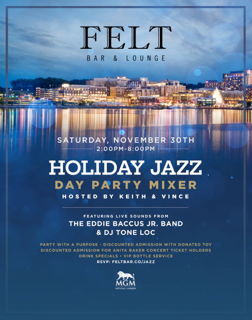 Holiday Jazz Day Party - FELT Bar & Lounge
