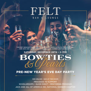 Bowties & Pearls Pre-New Year's Eve Day Party, Saturday, December 28th, 2019