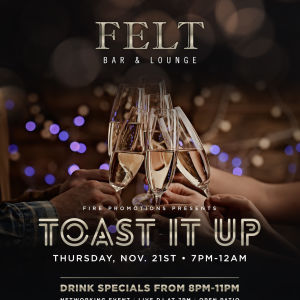 Toast It Up, Thursday, November 21st, 2019