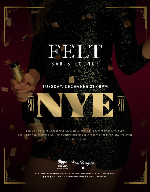 FELT'S NYE - FELT Bar & Lounge