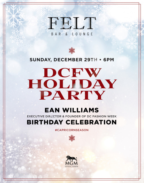 DCFW Holiday Party Hosted By Ean Williams - FELT Bar & Lounge