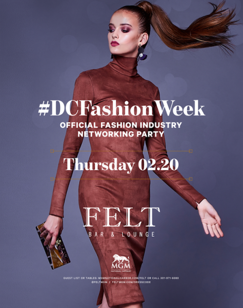Dc Fashion Week Official Fashion Industry Networking Party - FELT Bar & Lounge
