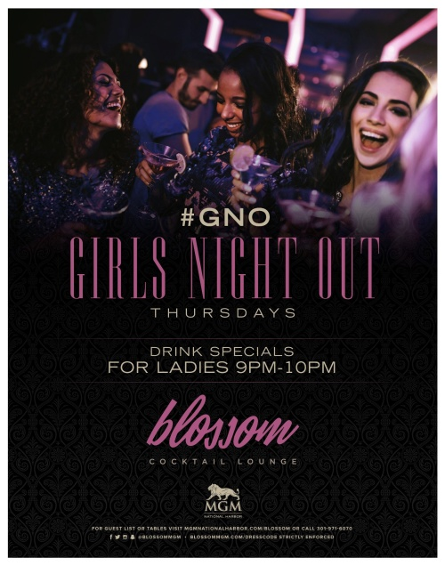 Girls Night Out - Blossom Cocktail Lounge
