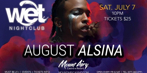 August Alsina - Wet Nightclub