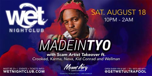 MadeinTYO - Wet Nightclub