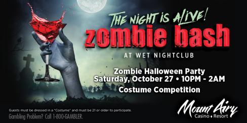 Zombie Halloween Party - Wet Nightclub