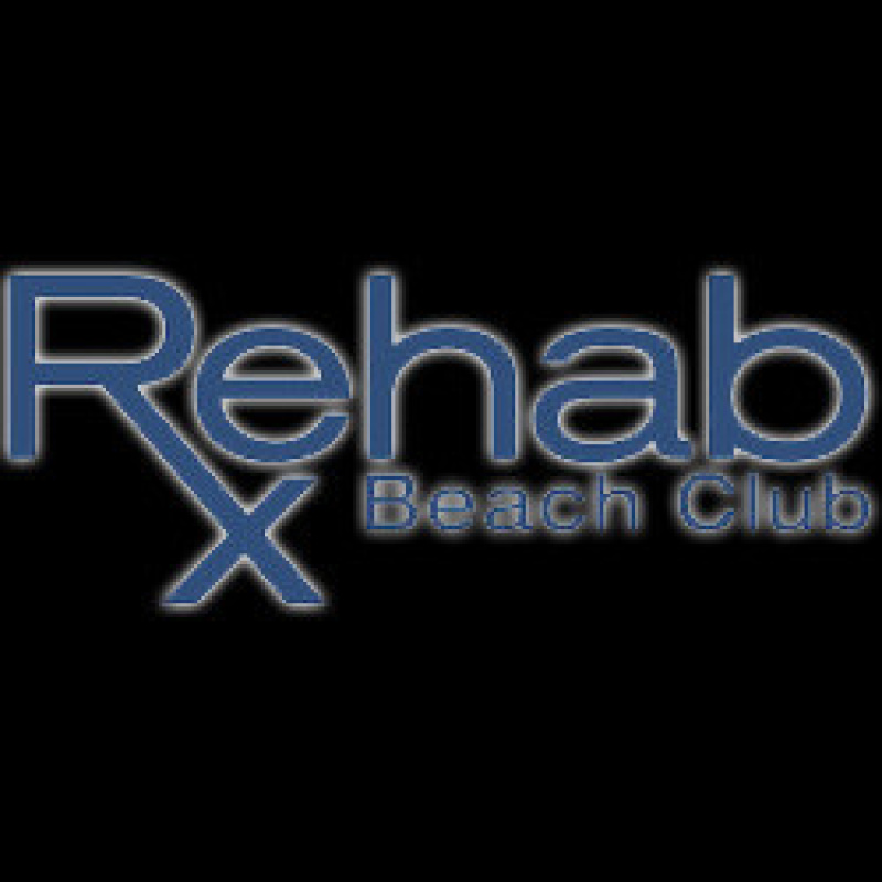 Rehab beach club backyard pool party rehab las vegas for Pool expo show