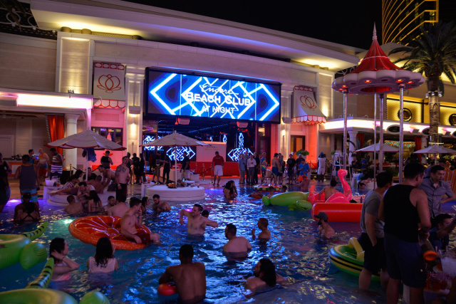 Ebc At Night Napkin Nights Xs Sunday Nightswim And Encore Beach Club